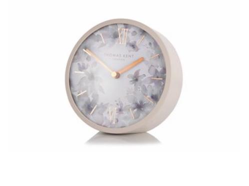 """5"""" Crofter Mantel Clock Dusty Pink"""