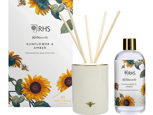 250ML SUNFLOWER & AMBER DIFFUSER