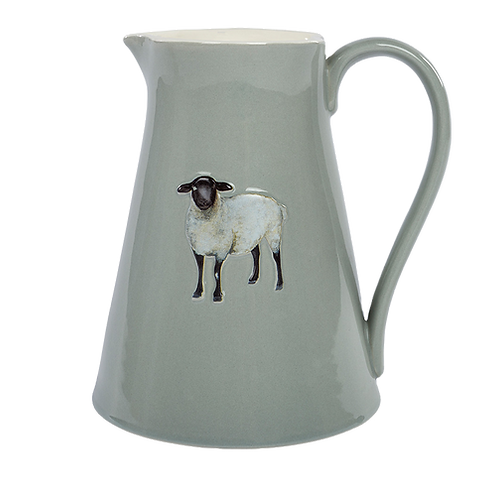 Sheep Embossed Jug-Large