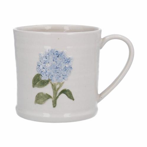 Ceramic Mug 9cm - Blue Hydrangea