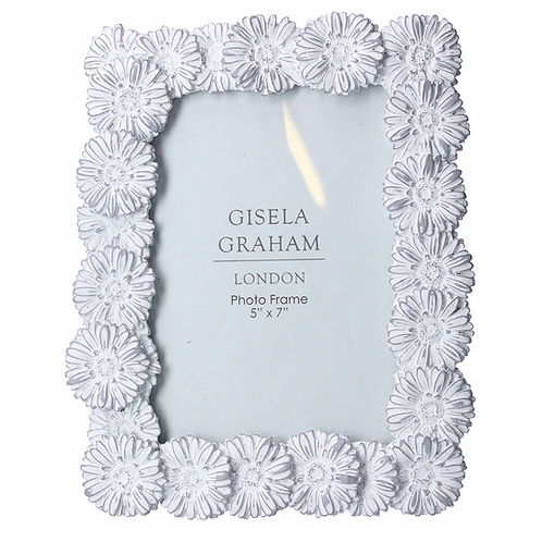 Grey Wash Daisy 5x7 Frame