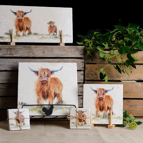 Highland Cow Marble