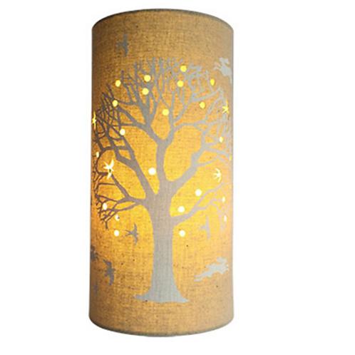 Fabric Lamp -Tree of Life