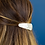 Thumbnail: Pearlescent double teardrop hairclip set