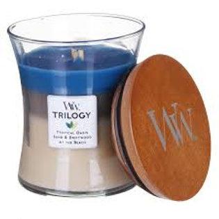 WoodWick Trilogy Nautical Escape Medium Candle