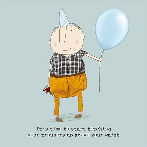 Trousers Up Card