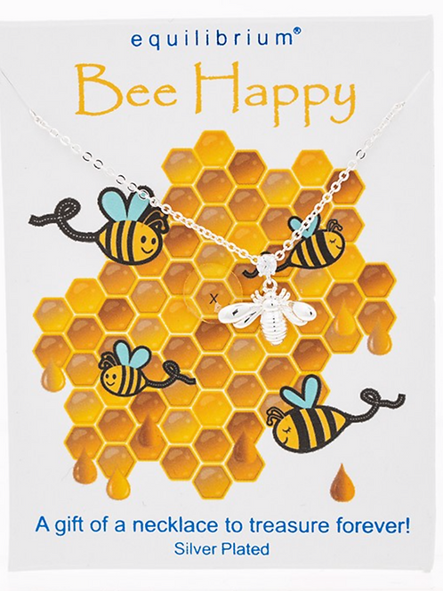 Sincere Sentiment Necklace Bee Happy