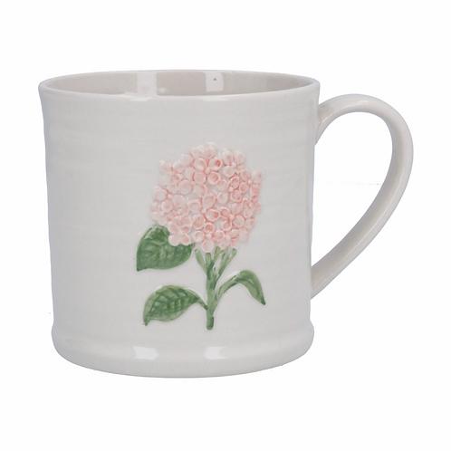 Ceramic Mug 9cm - Pink Hydrangea