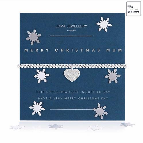 A LITTLE MERRY CHRISTMAS MUM BRACELET | SNOW GLOBE