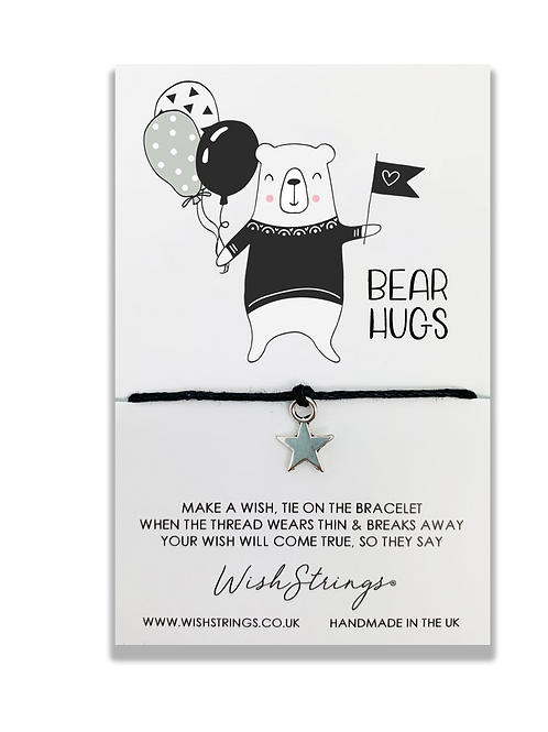 Bear Hugs Wishstring