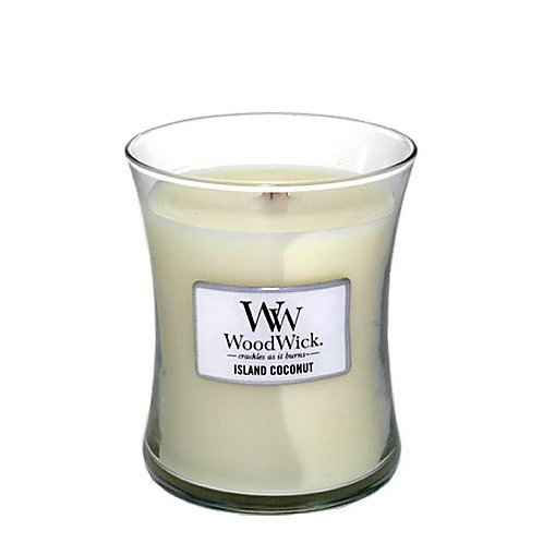 WoodWick Island Coconut Candle