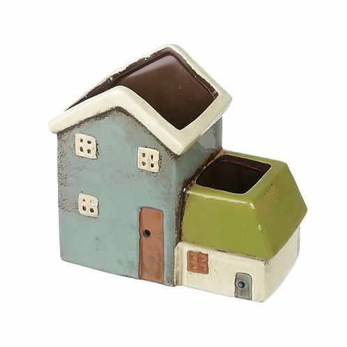 Ceramic Houses Planter