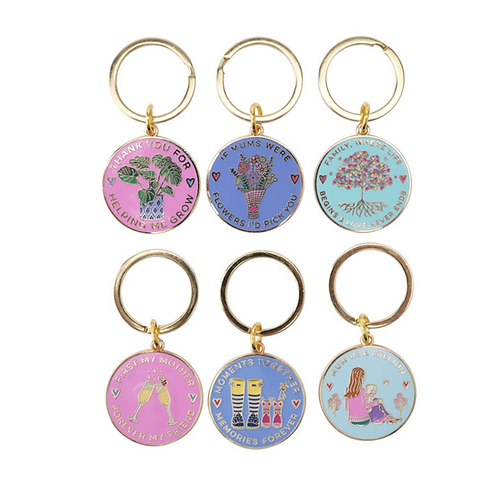 WITH LOVE KEYRING
