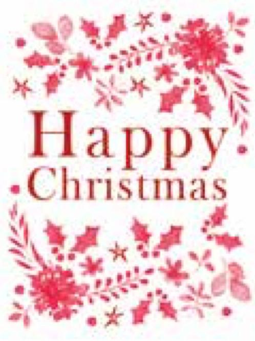 Happy Christmas Seed Card