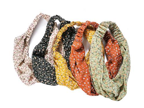 Ditsy headscarves