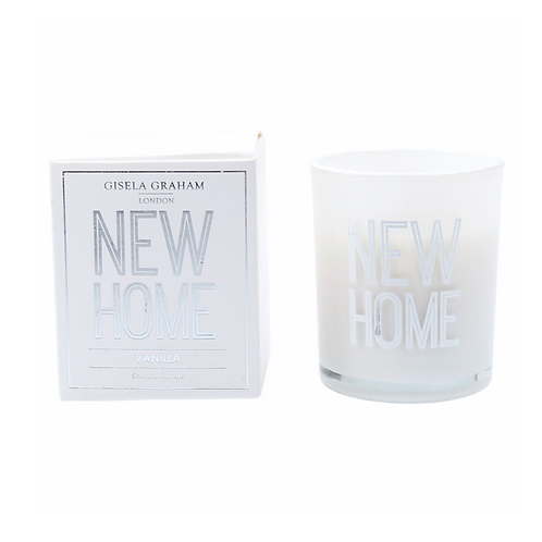 Boxed Sentiment Votive Candle - New Home