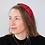 Thumbnail: Bright red mix safari print headband