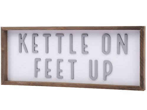 KETTLE ON PLAQUE