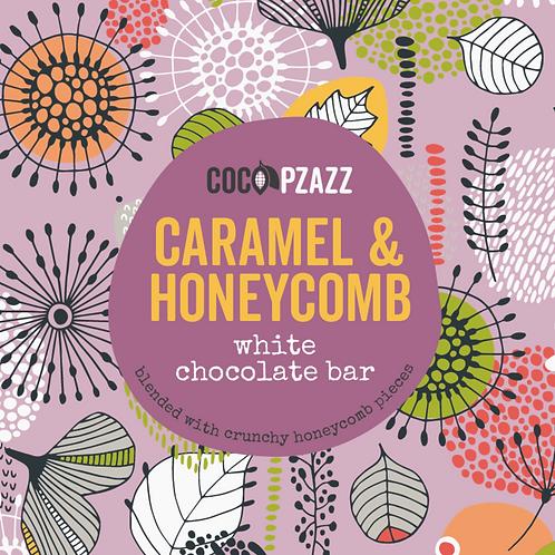 Caramel & Honeycomb White Chocolate Bar 80g