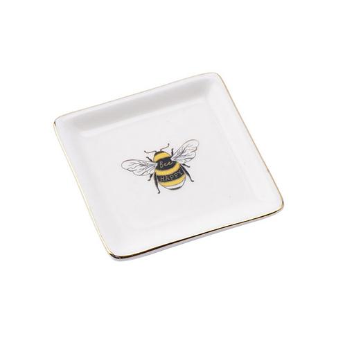 THE BEEKEEPER BEE RING DISH