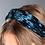 Thumbnail: Teal blue velvet headband