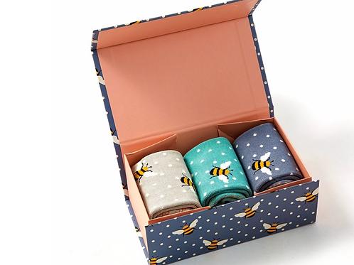 Bumble Bees Socks Box