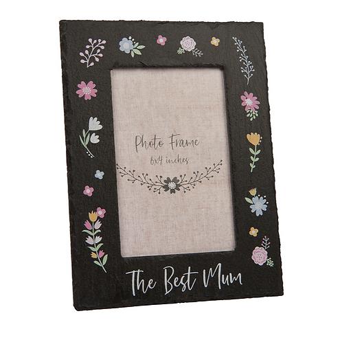 The Best Mum Slate Frame