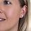 Thumbnail: Sterling silver birds in flight earrings