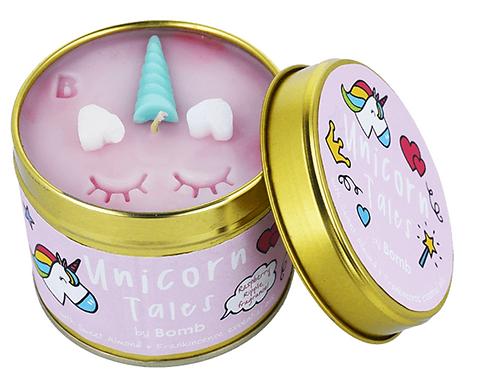 Unicorn Tales Candle