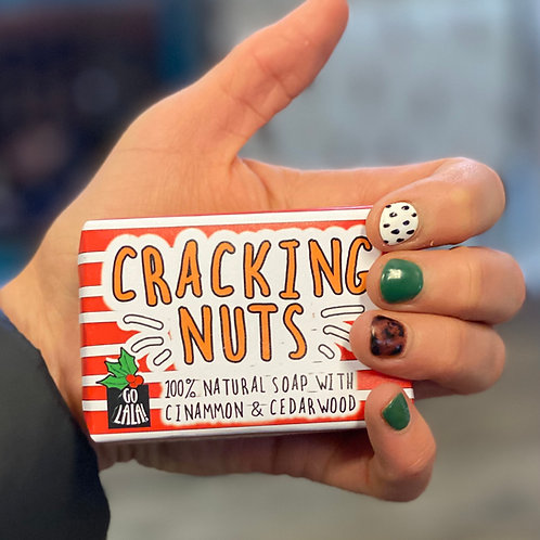 Cracking Nuts Soap Bar