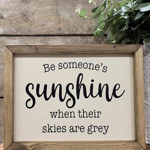 Someone's Sunshine