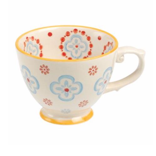 MOORISH TEA CUP CINNAMON FLOWER