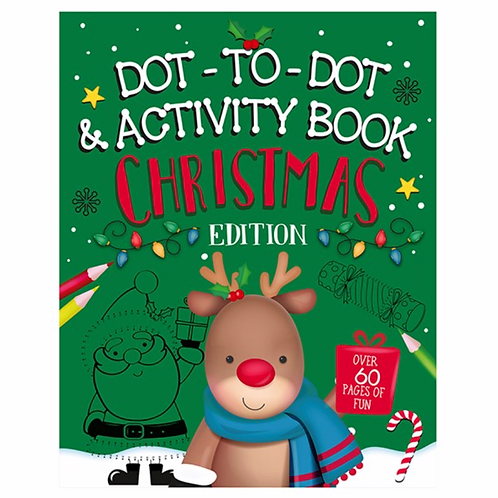 Christmas Dot to Dot Book