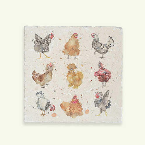 THE BRITISH COLLECTION: HENS LARGE
