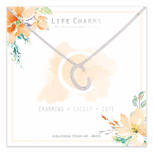 C is for...Necklace