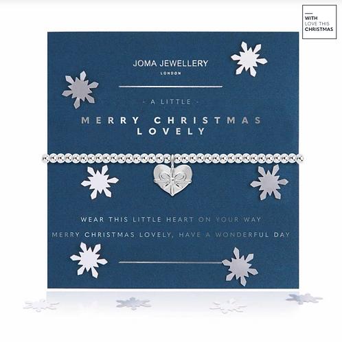 A LITTLE MERRY CHRISTMAS LOVELY BRACELET | SNOW GLOBE