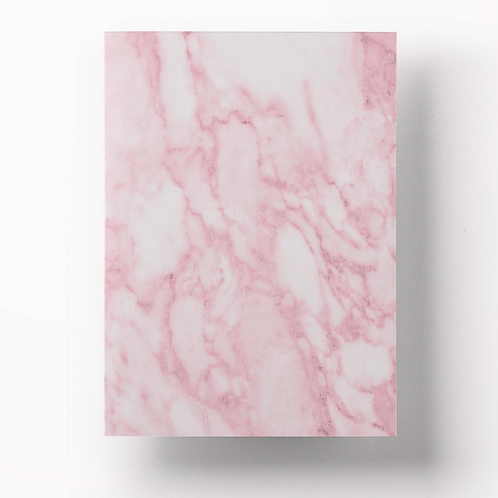 Notebook - Pink Marble