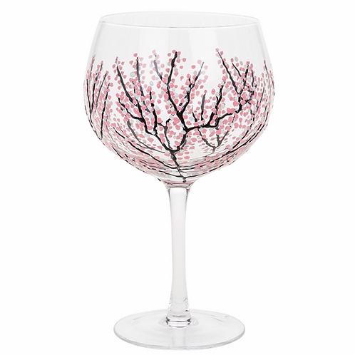Sunny By Sue Gin Glass-Pink Blossom
