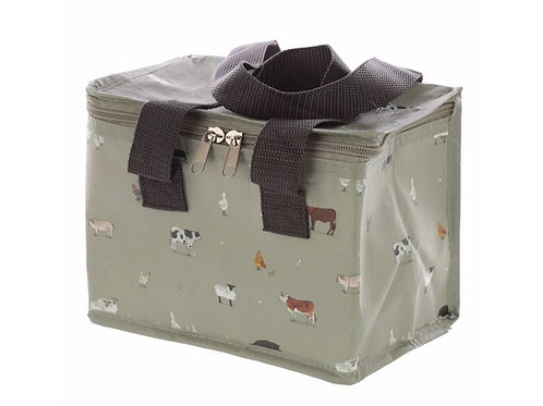 Woven Cool Bag Lunch Box - Willow Farm