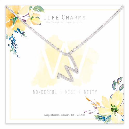 W is for...Necklace