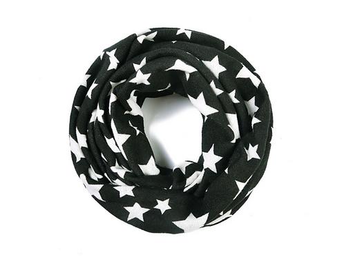 Black star snood/headband