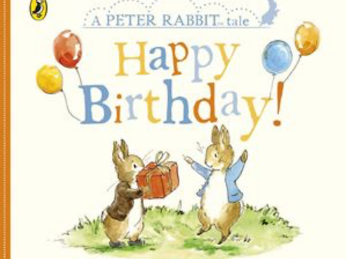 Peter Rabbit-Happy Birthday