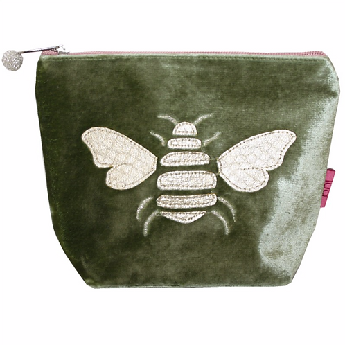 Gold Bee Small Cosmetic Purse