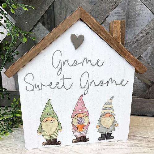 Gnome Sweet Gnome House Block