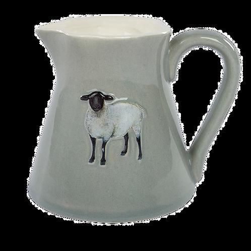 SHEEP EMBOSSED JUG MINI
