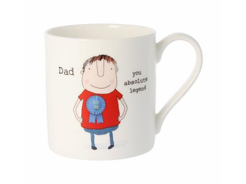 Rosie Made A Thing Dad You Absolute Legend Quite Big Mug