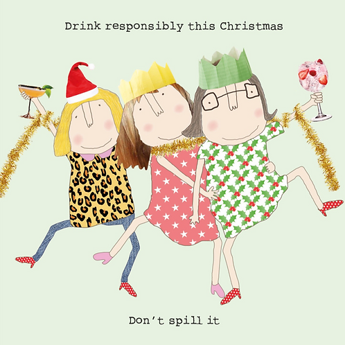 Drink Responsibly Card