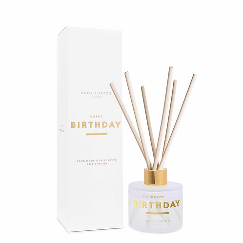 SENTIMENT REED DIFFUSER | HAPPY BIRTHDAY | POMELO AND LYCHEE FLOWER