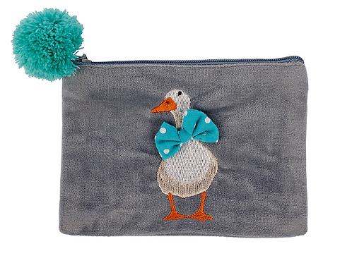 BOWTIE DUCK PURSE