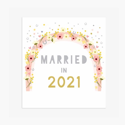 Married in 2021